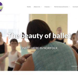 Ballet Virginia website