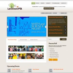 Larchmont Elementary PTA website