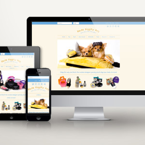Haute Diggity Dog e-commerce site