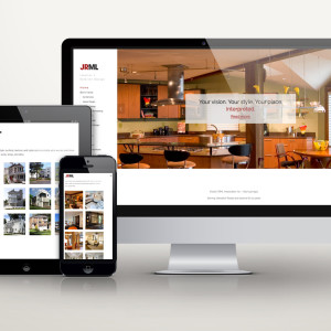 JRML Interior and Exterior Design website