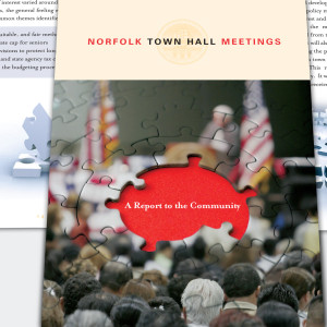 City of Norfolk Town Hall Meetings report