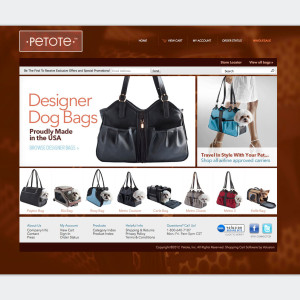 Petote e-commerce website