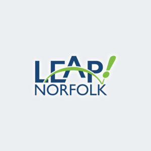 Generational Changers/LEAP Norfolk logos
