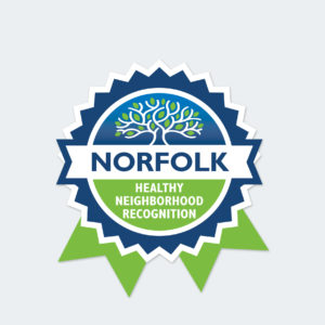 Norfolk Healthy Neighborhood Recognition logo